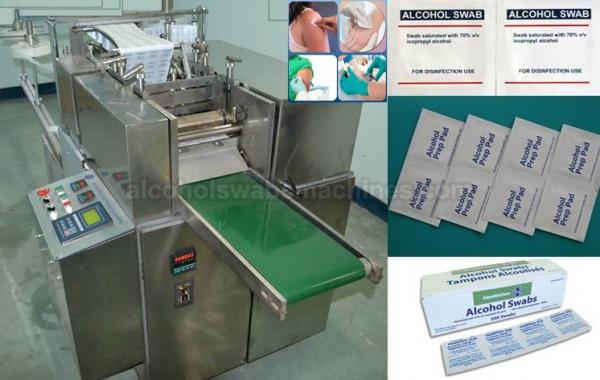 Alcohol Swabs Making Machine 2r280 Supplier China Alcohol Swabs Making Machine Manufacturer