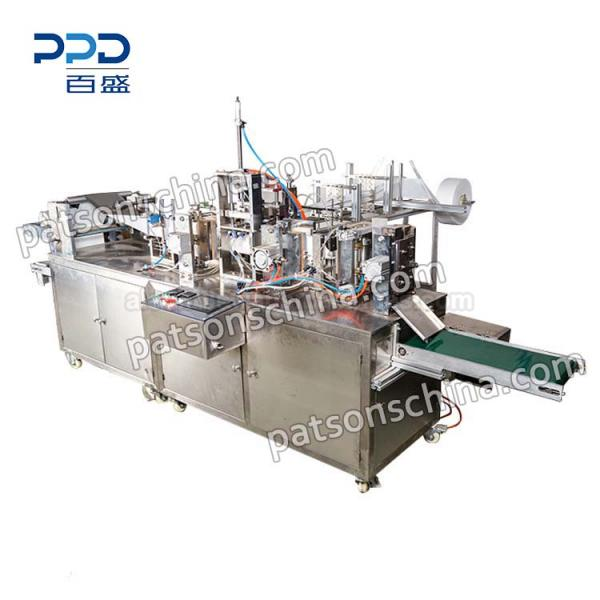 Fully Automatic Alcohol Wipes Packing Machine » PPD-AWWP
